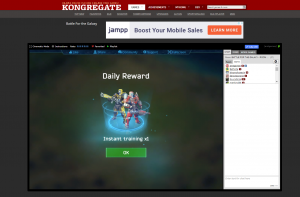 Battle for the Galaxy game at Kongregate.com